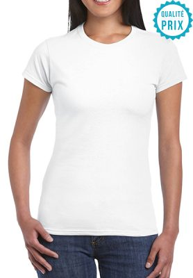 T-shirt classique femme col rond - Mon-BDE