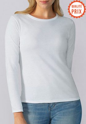 T-shirt manche longue femme - Mon-BDE