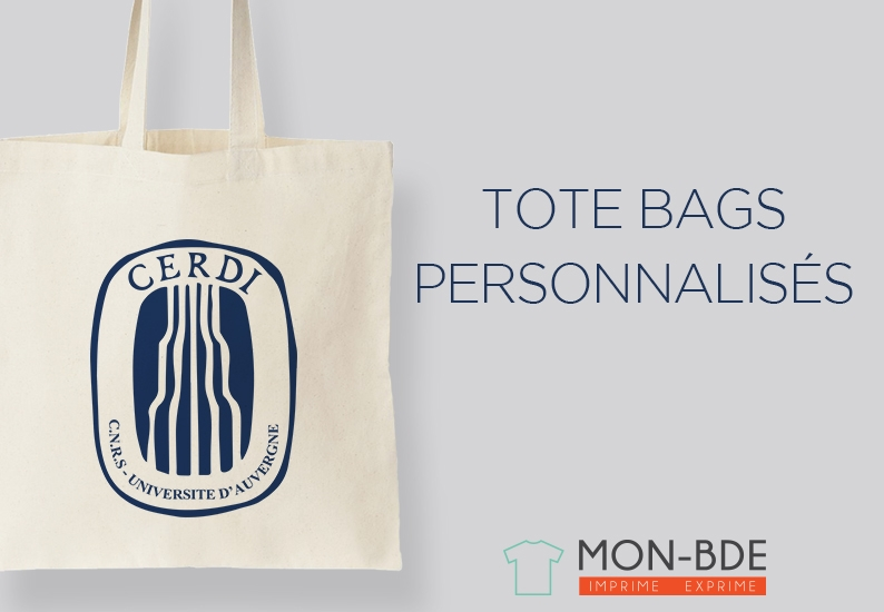 Tote bag association étudiante - Mon-Totebag